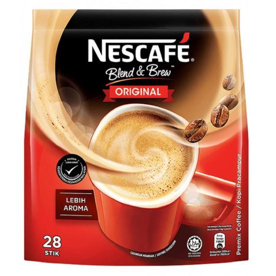 NESCAFE Blend & Brew Original 3 In 1 (28's X 19g)