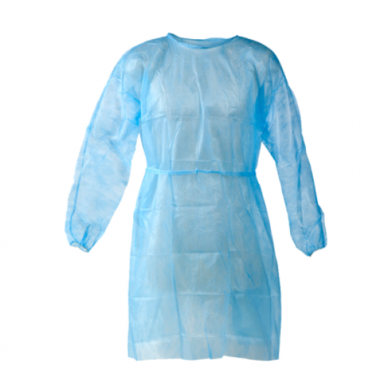 PP Disposable Non Woven Isolation Gown