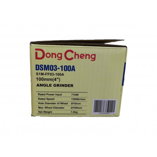 """DONG CHENG 4"""" Angle Grinder DSM03-100A (710W)"""