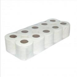 Economy Toilet Roll Tissue Paper / Bathroom Pulp Tissue Paper (10 Rolls)